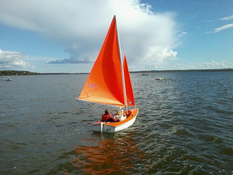 Sailing With Disabilities Day at Lake Wabamun