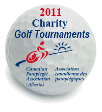 Golf Ball with CPA Logo