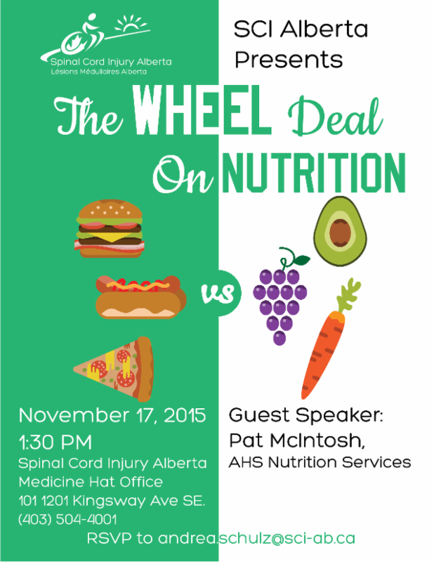 Wheel Deal on Nutrition Poster