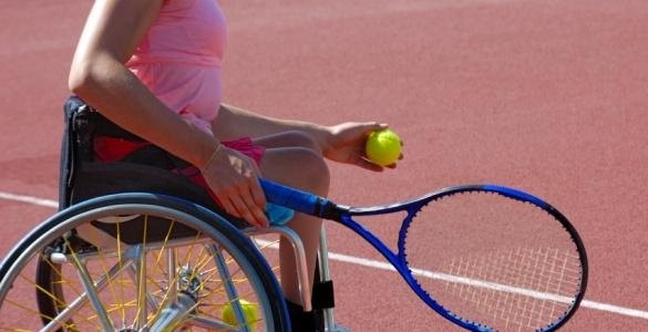 Wheelchair Tennis Image