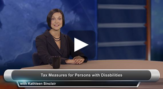 Tax Measures for Persons with Disabilities