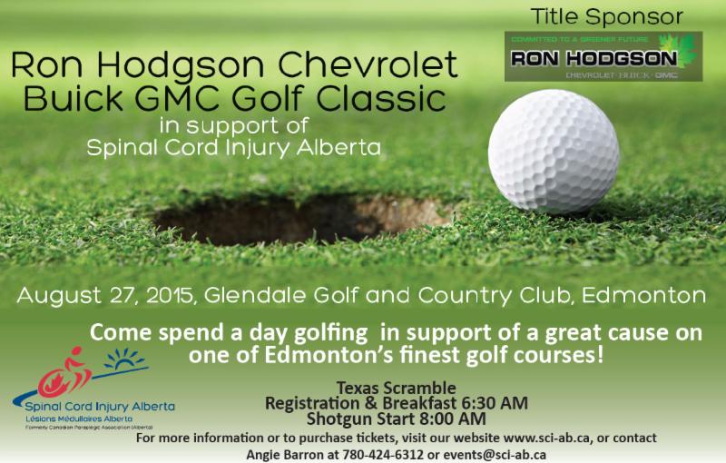 Ron Hodgson Chevrolet Buick GMC Golf Classic - August 27, 2015