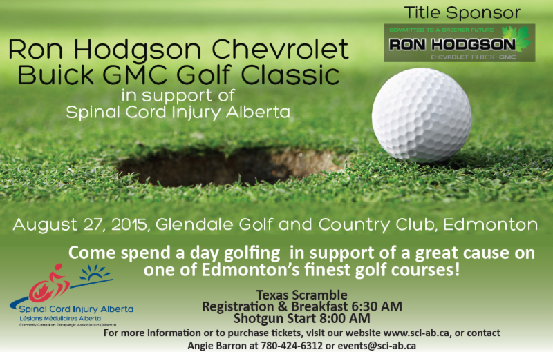 Ron Hodgson Chevrolet Buick GMC Golf Classic - August 27, 2015