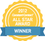 Constant Contact All Star Award 2012