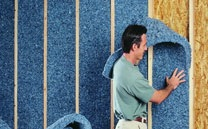 UltraTouch recycled denim insulation