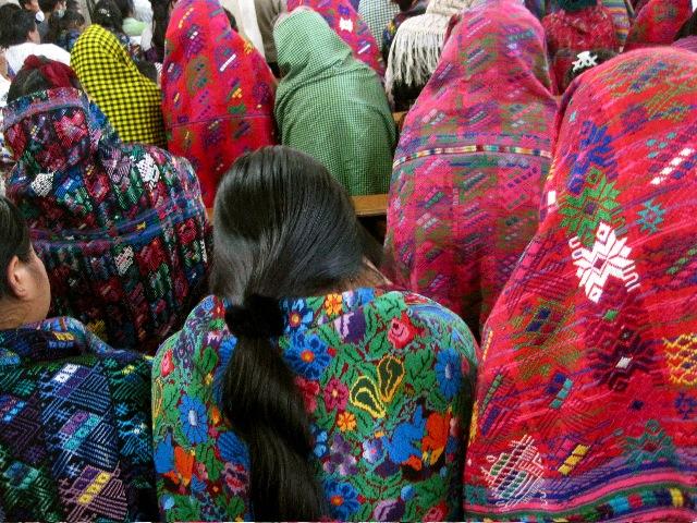 Guatemala women shawls