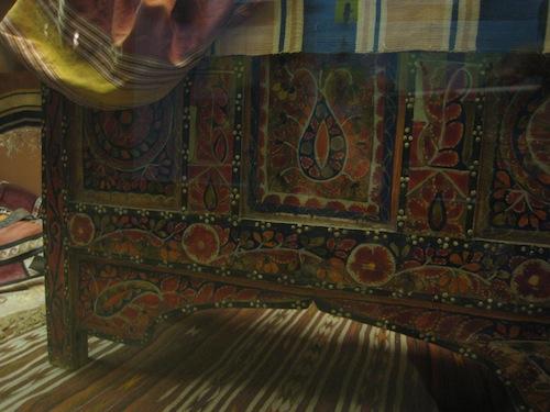 Uzbek painted chest
