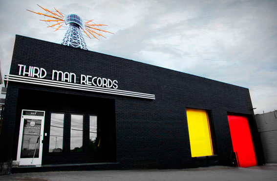 Jack White's Third Man Shop, Nashville, TN