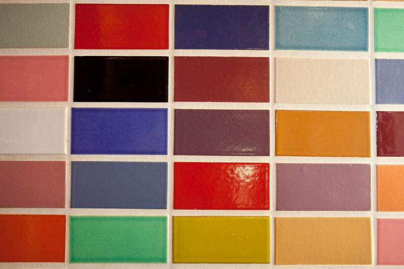 Fireclay recycled tile