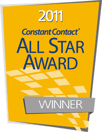 Constant Contact 2011 All Star Award