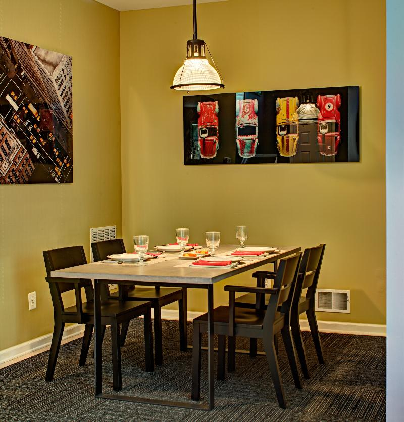 Dining room after design by Tracey Stephens.