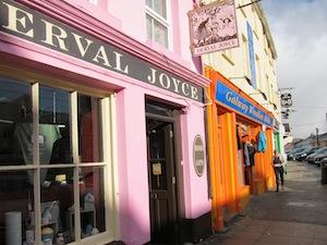 pink and orange Clifden, Ireland