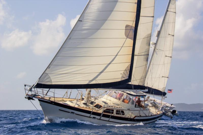 Jalapeno Sailing Upwind