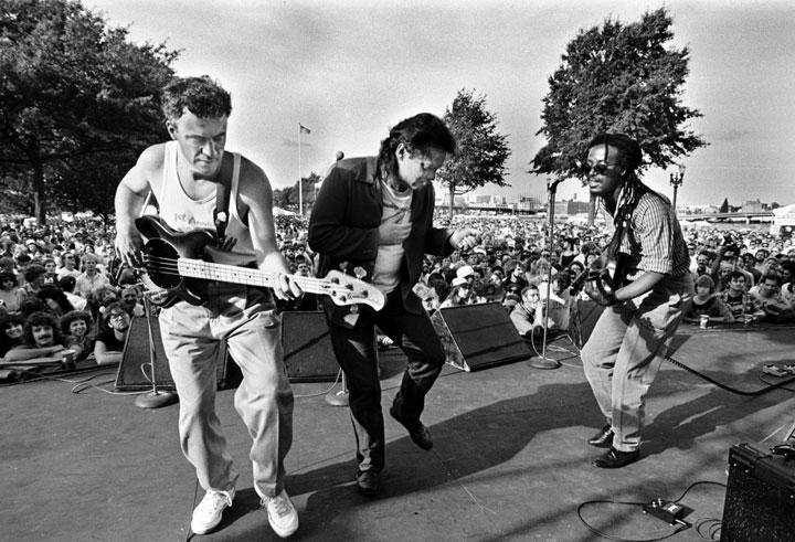 Curtis Salgado, 1987 Rose City Blues Festival
