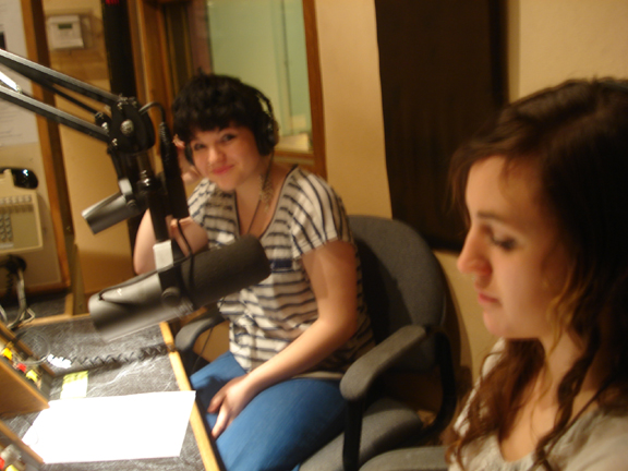 KBOO Youth Collective members.