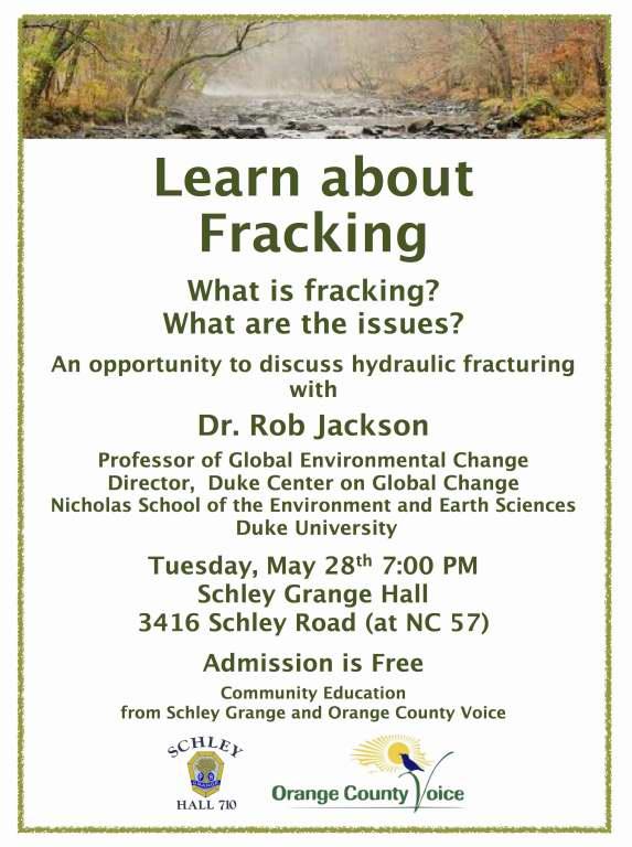 fracking flyer
