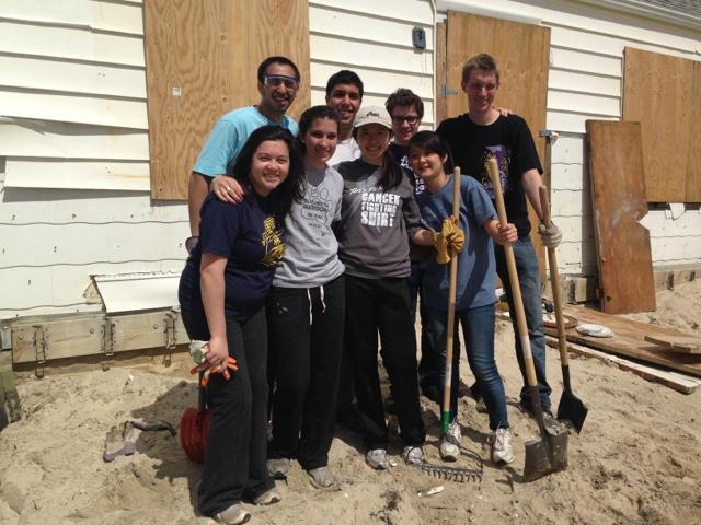 Sandy Relief Work