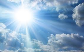 FATHER GOD  SUN RAYS