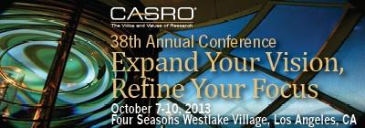CASRO 2013 annual banner ad