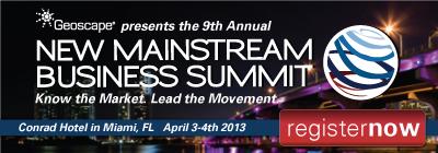 Geoscape 2013 Summit ad