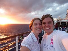 Joanna on Cruise