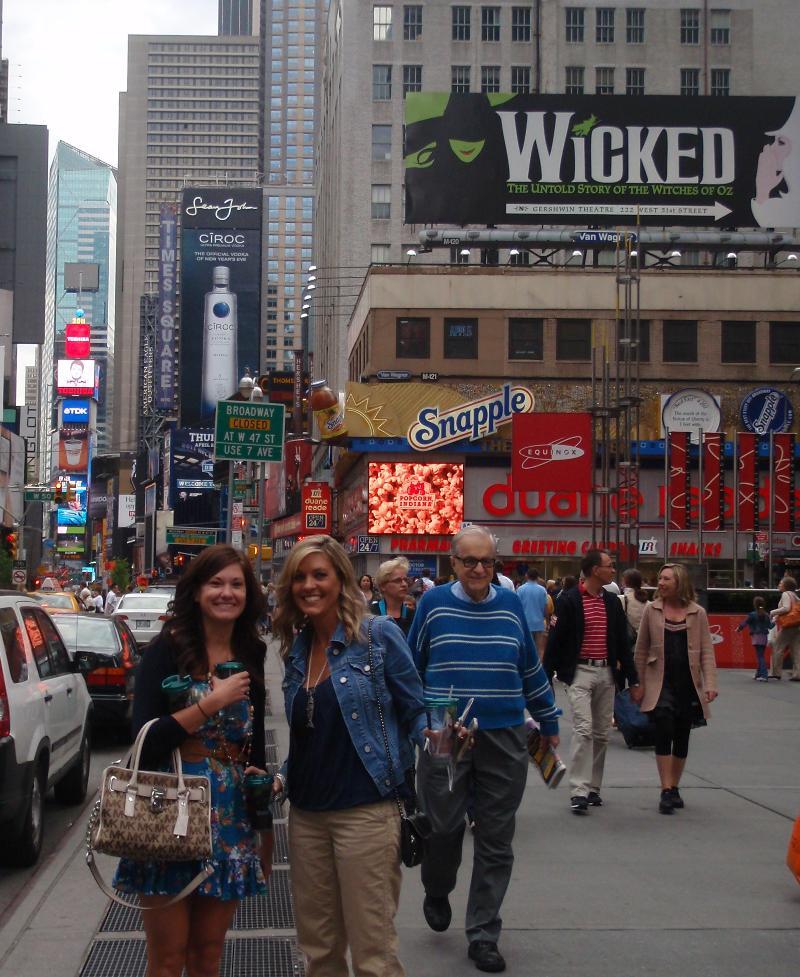 Times Square Kelli Bronson
