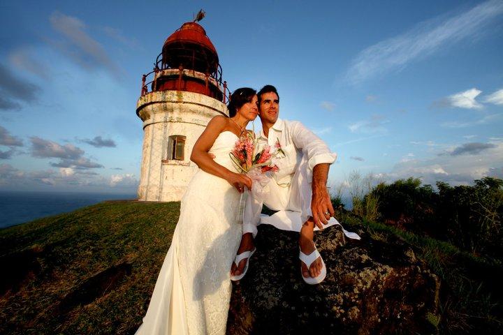 couple lighthouse