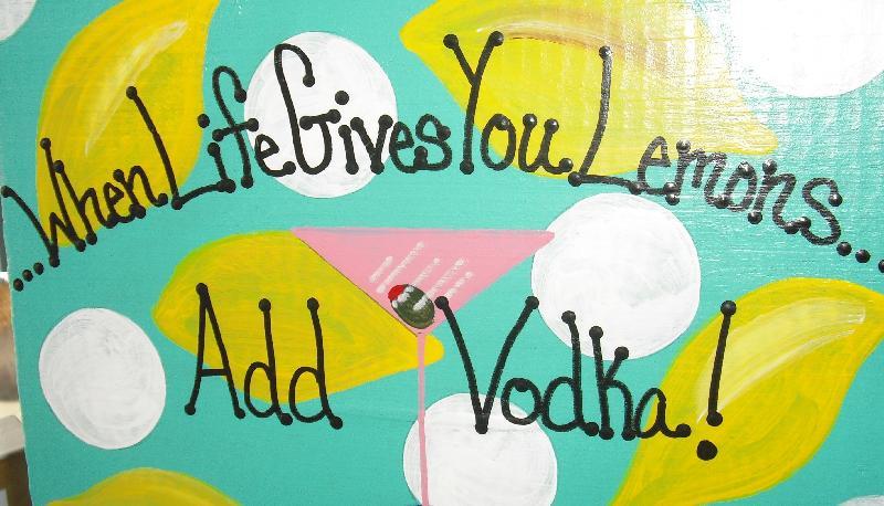 lemons vodka