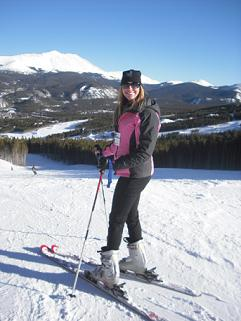 Casey skis