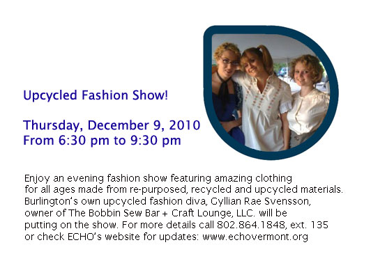 Upcycled Fashion Show