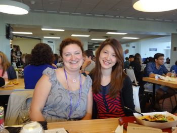Allison HUNG'10 with Dr. Stoeckl