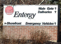 Entergy Nuclear Power Plant in Plymouth, Mass.