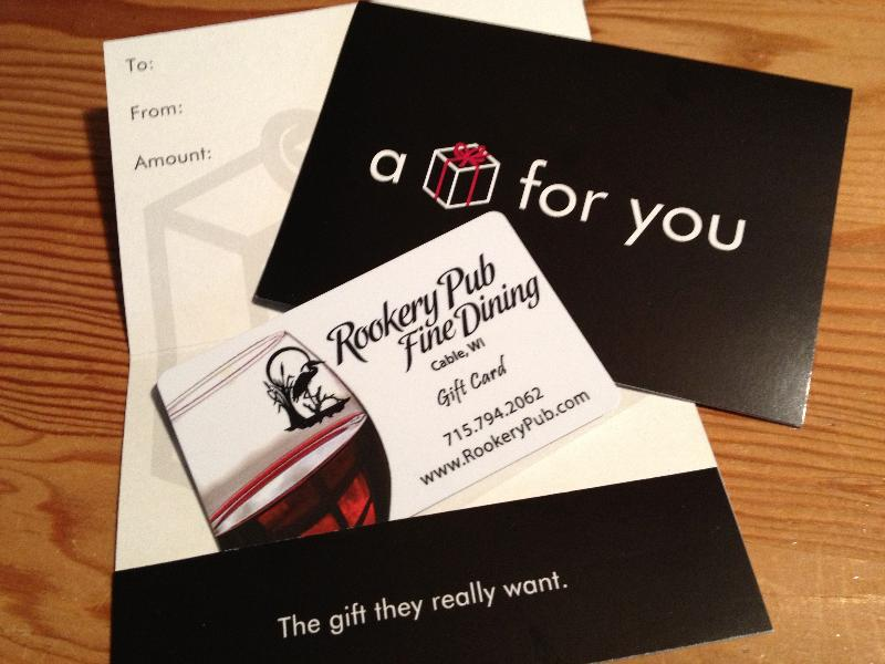 Rookery gift card
