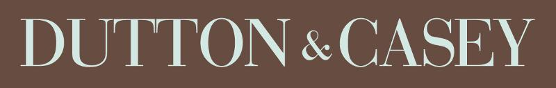 Dutton & Casey brown logo