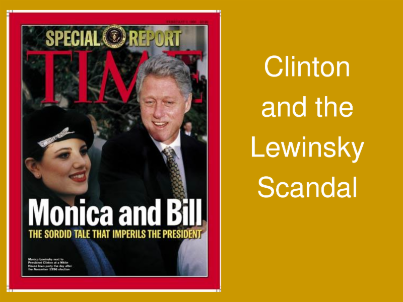 the clinton lewinsky scandal Browse 20 years since clinton-lewinsky scandal broke latest photos view images and find out more about 20 years since clinton-lewinsky scandal broke at getty images.