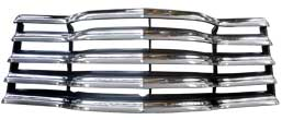 1947-53 CHEVY TRUCK GRILLE ASSY-CHROME/BLACK