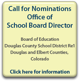 Board of Ed call for nominations