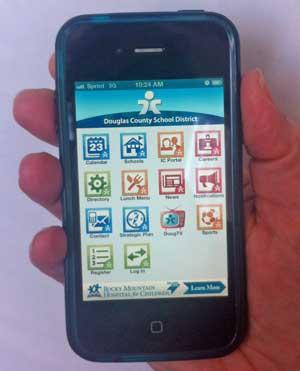 DCSD mobile app