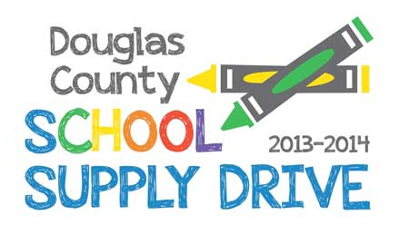School Supply Drive logo