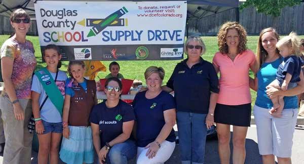 School Supply booth