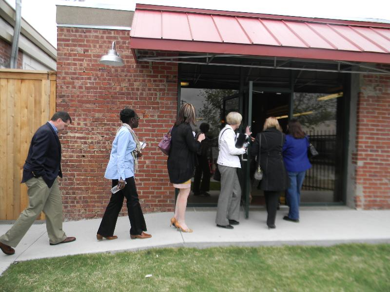 CI Panel Members visit a partner agency