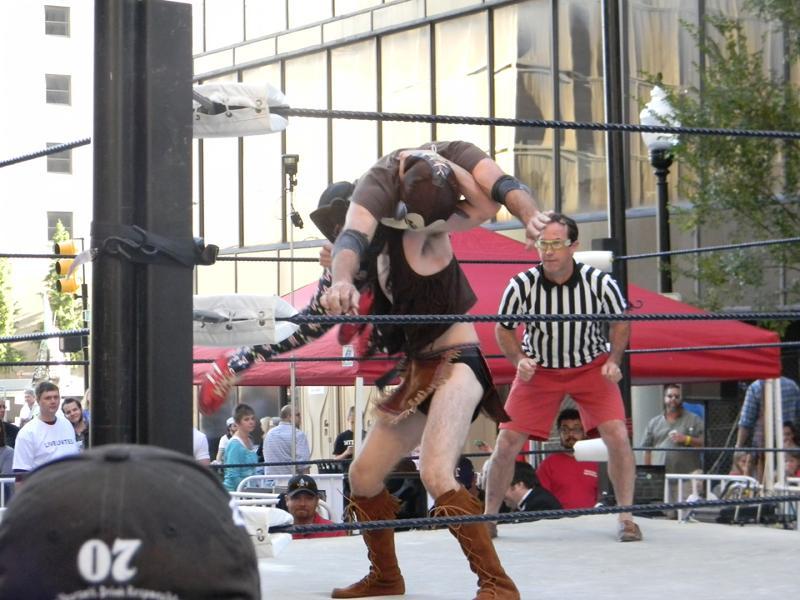 Luchapalooza wrestlers