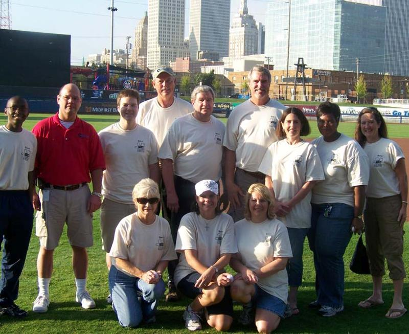 Explorer Pipeline Day of Caring group picture