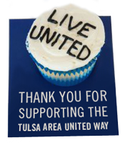 Thanks for supporting the Tulsa Area United Way