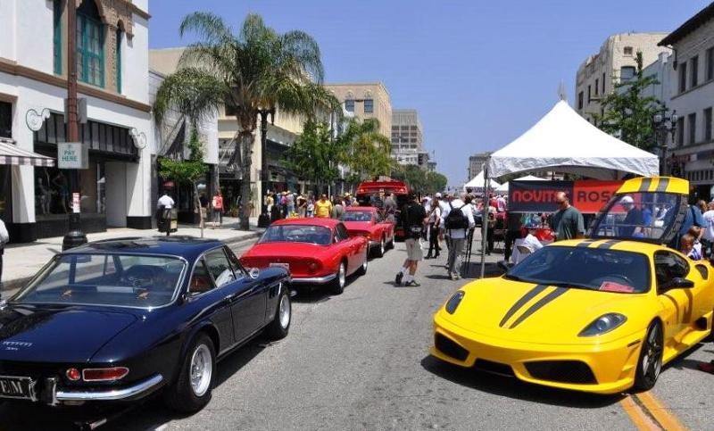 Ferrari Club Of America Concorso Ferrari Event In