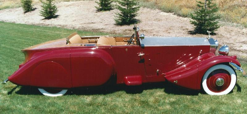Rolls-Royce 1930 PII side