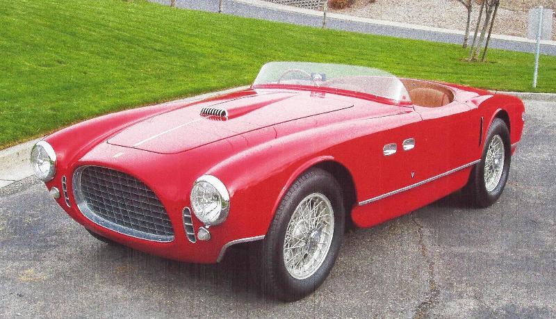 Ferrari 1953 250 MM Spyder