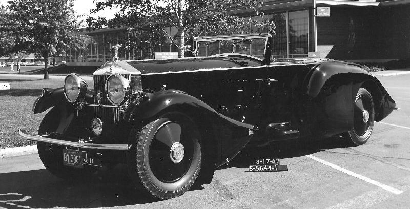 1930 Rolls-Royce PII Barket F34