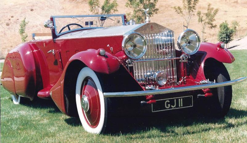 1930 Rolls-Royce PII Barker