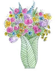 2142 - Farmer's Market Bouquet